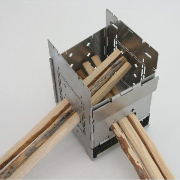 Folding Firebox 5″ Stove ... - Folding Firebox 5