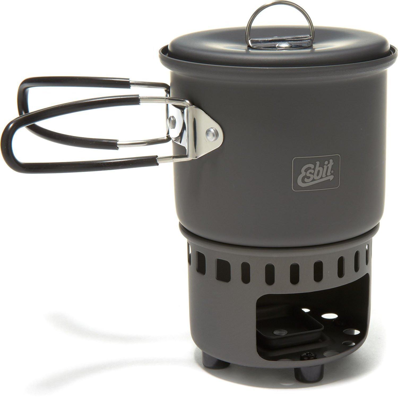 ESBIT CS585HA Solid Fuel Stove & Cookset - Boreal Ventures
