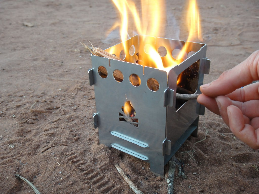 Backpacking Wood Stove WB Designs - Backpacking Wood Stove WB Designs