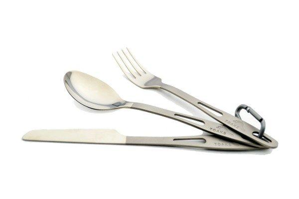 Titanium Cutlery set