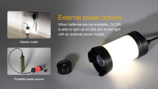 Fenix CL25R Base Lamp