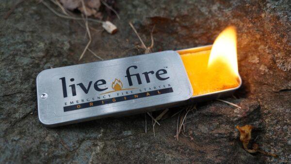 Live Fire Emergency Fire Starter
