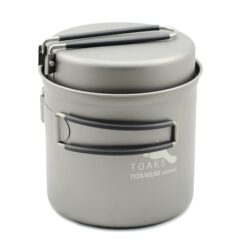 TOAKS Titanium 1100 ml pot & pan