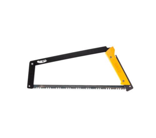 Agawa Canyon Boreal 21 Folding Bow Saw - Yellow handle, black frame