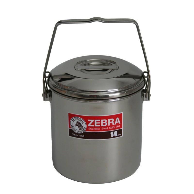 Zebra 14cm Stainless Steel Billy Pot